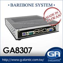 Barebone GA8307 sistema Intel Atom mejor caja de la computadora