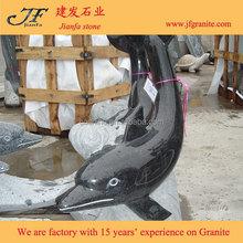 2015 Shanxi Black Granite Modern Animal Abstract Stone Sculptures