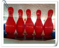 2015 top sales inflatable bowling set,human bowling inflatables,giant inflatable bowling pins