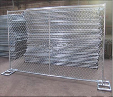 Top selling American 6ftx10ft chain link temporary fencing fabric(Factory)