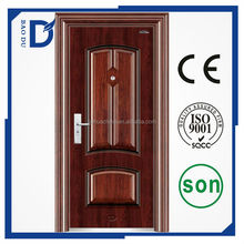 security steel door model main door heat transfer painting