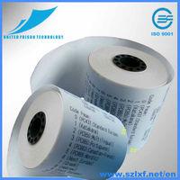 """3 1/8"""" (80mm) x 119' Thermal Paper Rolls - 50/CS"""