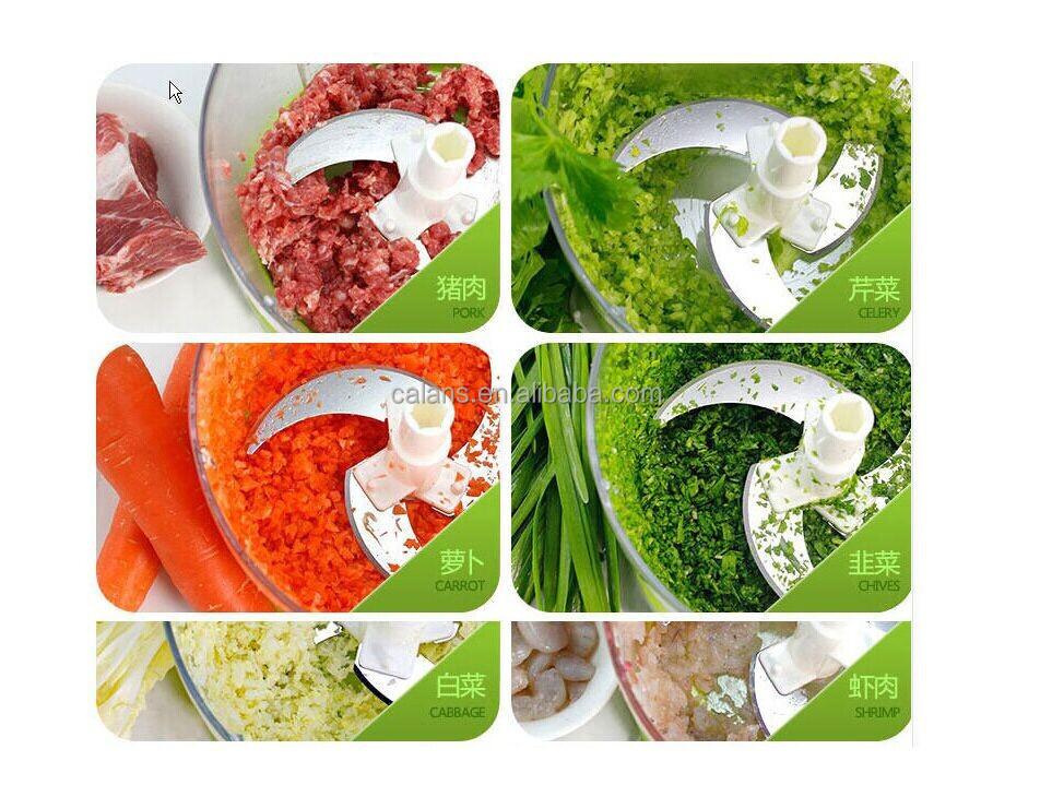 vegetable mincer machine