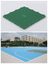 PP Mobile basketball court flooring