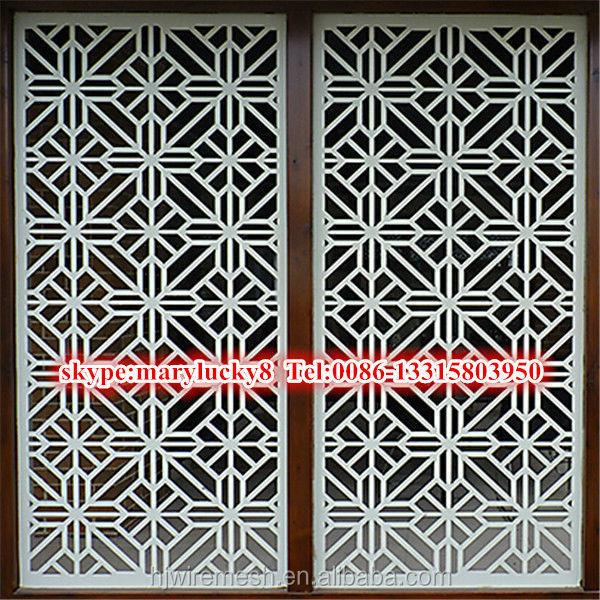 Fabuleux Découpe laser aluminium panneau / panneau décorative coupe laser  YP07
