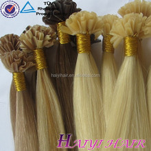 Thick Bottom! High Grade Russian Quality Remy U Tip Pre Bonded Hair