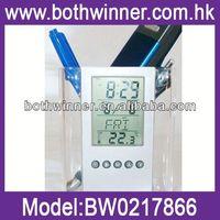 CF058 perpetual calendar pen holder