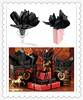 """15x20"""" Halloween Party Gift Bags Wrap paper Black Tissue Paper 480 Sheet Ream"""