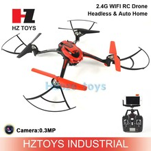 Headless & Auto Home 2.4G wifi rc drone fpv toys with camera.