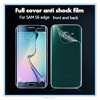 full screen cover for s6 edge tempered glass protector wholesale price