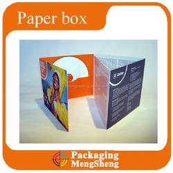 customized printed CD paper case DVD storage case