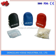 Professional one way valve cpr mask with golves