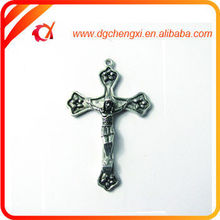 2015 new product zinc alloy cross charms christian products wholesale