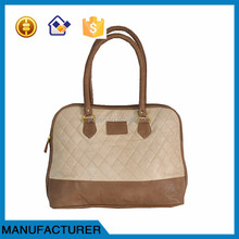 New Design PU leather lady handbag manufacturers women bag