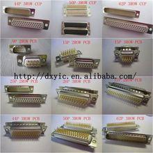 D-sub Connector D-SUB R/A BKT 4-40 POST B/L DE9S1A8NA191-146