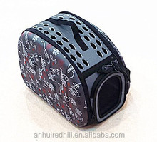Soft sided Collapsible Pet Carrier Dog Carrier
