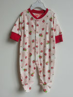 Clothing manufacture in china long sleeve baby romper design 100 cotton baby romper