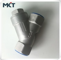 China Professional Manufacturer Screwed SS CF8 Female Thread y Strainer