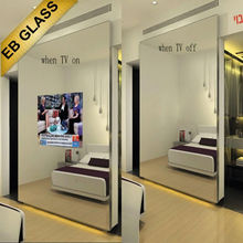 mirror tv for hotel decoration supplier/wholesaler/manufacture/distributor EB GLASS BRAND