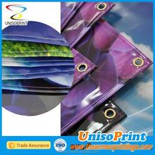 Digital de la publicidad impresión bandera plástico en un rollo