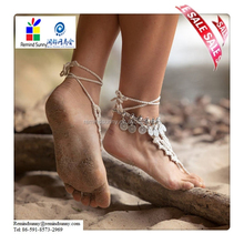 Bohemian style Women Ankle Chain Sexy Anklet Bracelet Foot Sandal Barefoot Beach