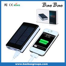 waterproof solar power bank 10000mah portable solar charger solar batterY