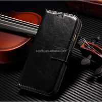 New design leather back cover stand mobile phone case for iphone 6 6s 5 5s 5c for Samsung galaxy S3 S4 S5 S6 Note 3 4 5 case