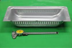 OEM metal stamping parts of stretch metal hardware parts use for microwave back cover
