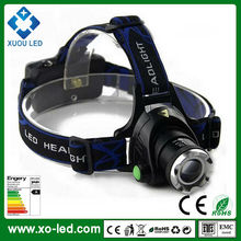 18650 Rechargeable Battery Power 10W LED Headlamp with 1000 Lumens Output