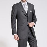 Business Grey Premium Two-Piece Suit