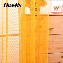 fashion style home decoration curtains,fashion mesh fabric for curtains,knitted mesh fabric for curtains