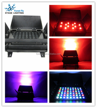 design led lighting 54 pcs RGB led par light, floodlight