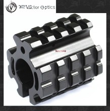 Vector Optics Low Profile Quad Picatinny Rails Gas Block Barrel Mount System fit .223rem 5.56m 0.75 Inch Rifle Barrel Adjustable