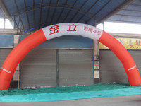 CILE 2015 cheap advertising inflatable arch for sale