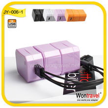 JY-006 multi universal usb charger,5V wall charger for all kinds of smart phone