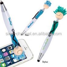Hospital Promo Novelty Stethoscope Clip Stylus Pen