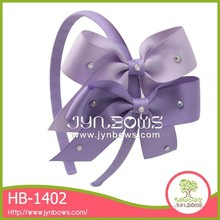 The two purple butterfly HB-1402 hot hair accessory
