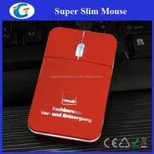Retractable usb wired mini optical pocket mouse with led logo