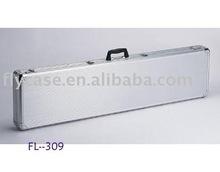2012 new design Aluminum rifle case ,gun case with logo print and sponge insides