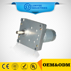 LOW RPM gear motor dc 12v high torque jack