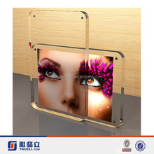 Little girl not frame clear acrylic photo frame display/clear table-top scratch resistant acrylic animal women sex photo