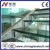 Size & color customized commercial PVB film laminated glass