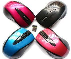 Custom WM02 Cheap Optical 2.4ghz Logitech Wireless Mouse