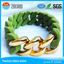 colorful christmas gifts activity silicone wristbands for events
