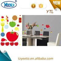 2015 self-adhesive room removable art wall stickers,removable home decoration,wall clock creative