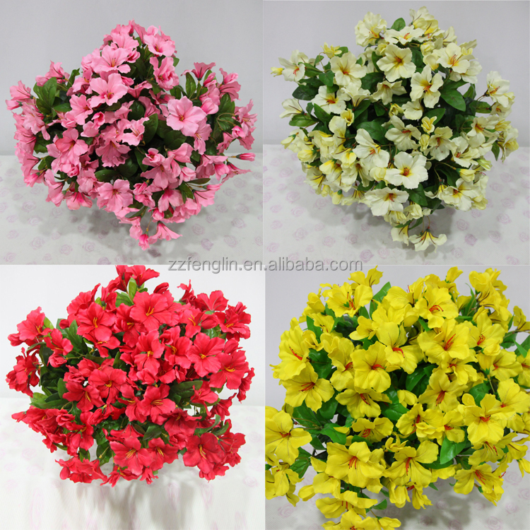 High quality 20inch latex luck flower bush wholesale artificial 1g 1 2g mightylinksfo