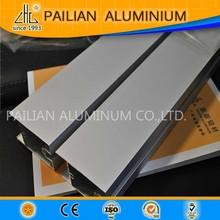Plus de 20 anos profil en aluminium fabricant, 2014 Hot vente en alliage d'aluminium 6063t5, Rectangulaire en aluminium profil 6063