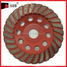 """5"""" Diamond cup wheel for resurfacing on concrete, masonry and stone faces"""