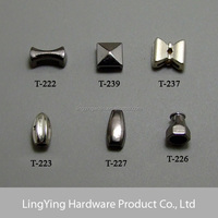 Cheap new arrival with custom logo metal decorative cord locks cord stoppers