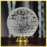 Crystal Golf Ball Fancy Door Knobs For Bathroom Decoration